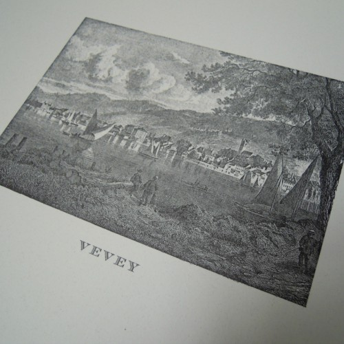 Engraving Vevey