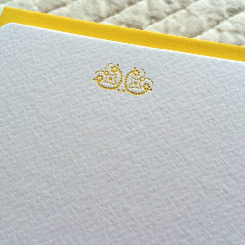 Correspondance cards - dots (packet of 10)