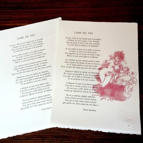 L'âme du vin - Baudelaire