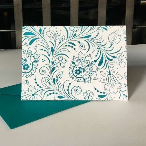 Floral motif (packet of 6)