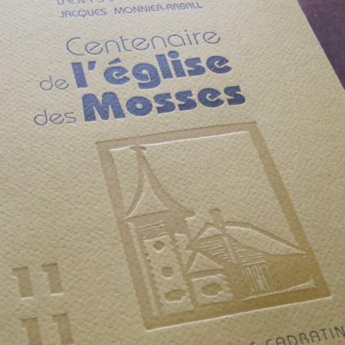 Centenaire de l'église des Mosses - Denyse Raymond & Jacques Monnier-Raball