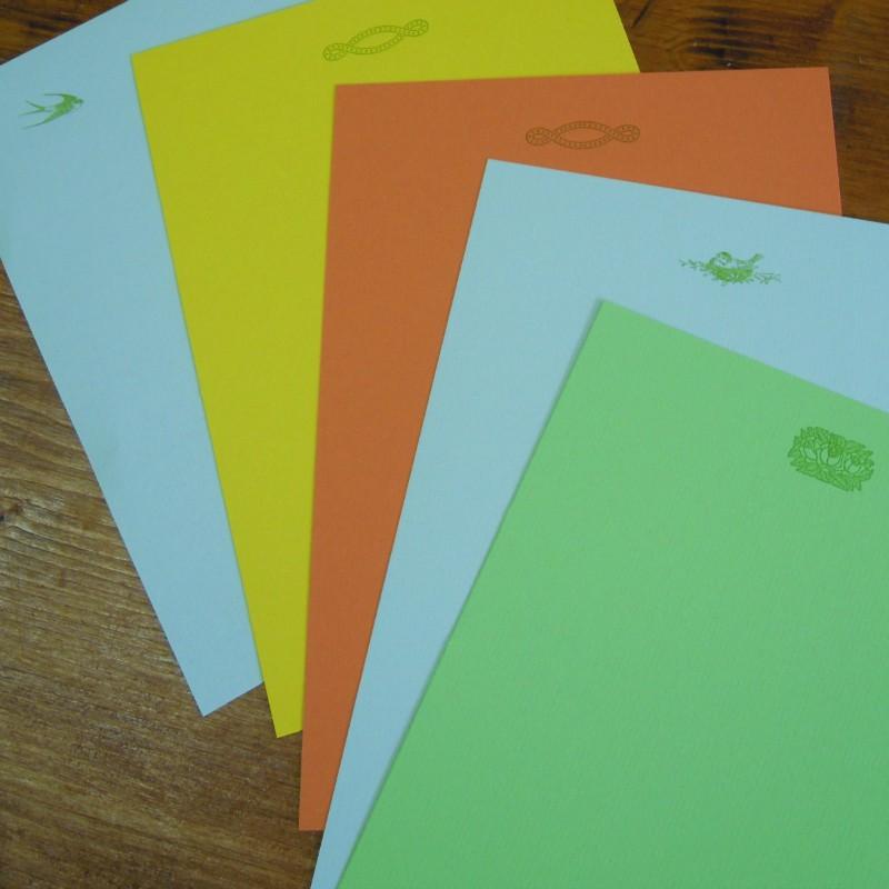 Papier à écrire plus enveloppes A5
