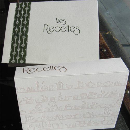 Cartothèque de recettes
