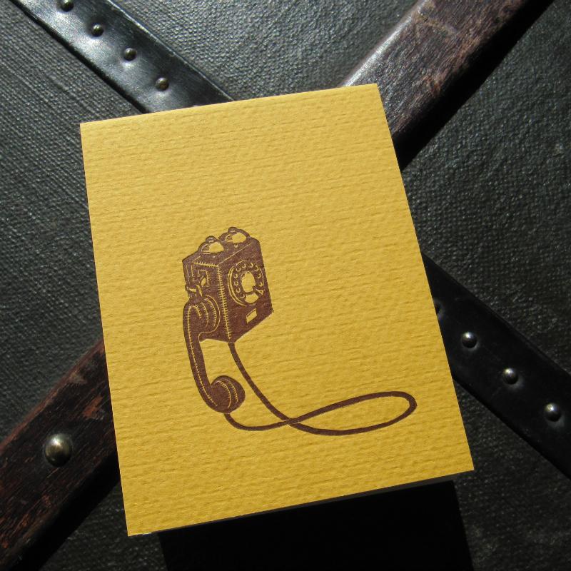 Notepad - telephone