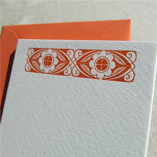 Cartes de correspondance - art deco (paquet de 10)