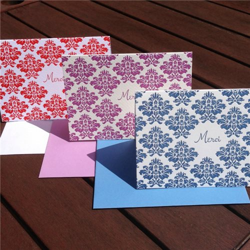 Merci damask (packet of 6)