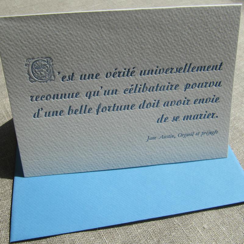 Citation - Jane Austin