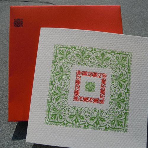 Rouge & vert (paquet de 6)