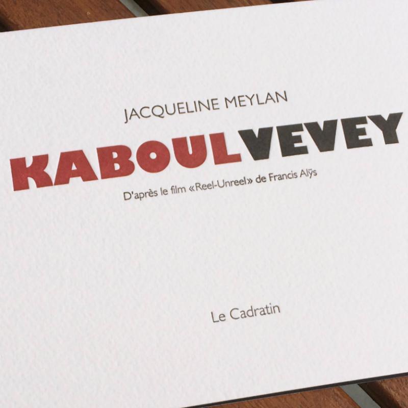 Kaboul Vevey - Jacqueline Meylan