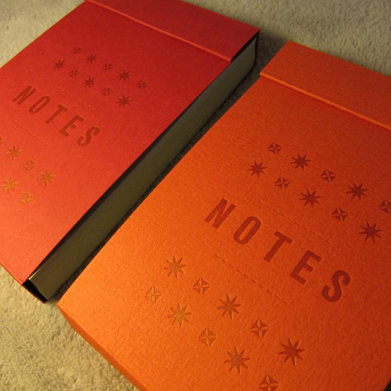 Notepad - stars