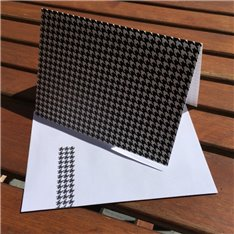 Houdstooth check (packet of 6)
