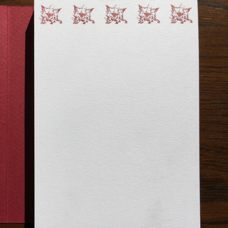 Notepad - animals