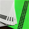 Cartes de correspondance - pied de poule A5 (paquet de 5)