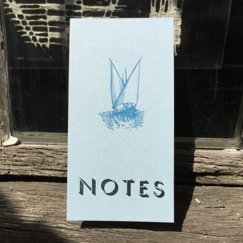 Notepad - boat