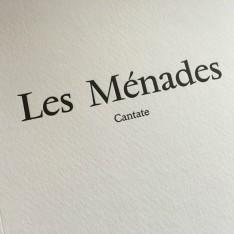 Les Ménades- Sylvoisal