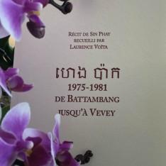 De Battambang jusqu'à Vevey, récit de Sin Phay - Laurence Voïta