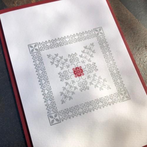 Vignette square (packet of 6)
