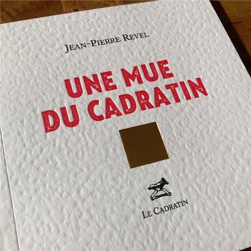 Une mue du cadratin : nouvel épisode - Jean Pierre Revel