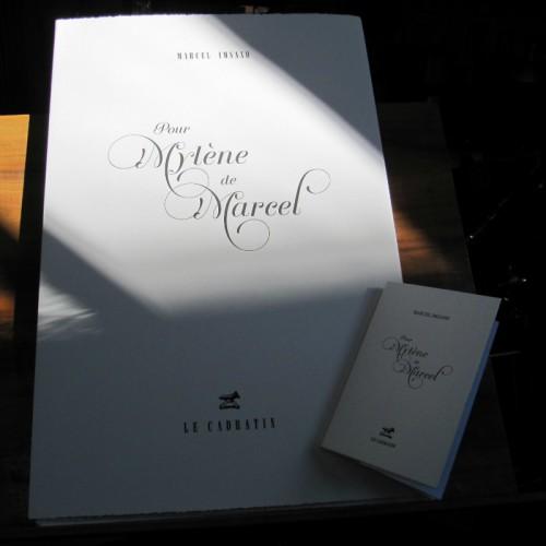 Pour Mylène de Marcel - Marcel Imsand