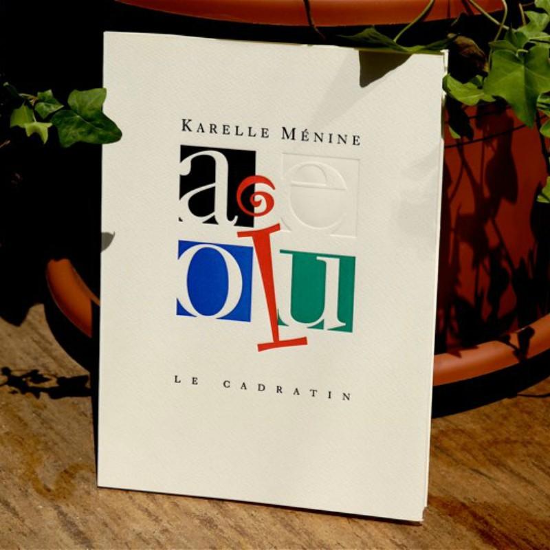AEIOU - Karelle Ménine